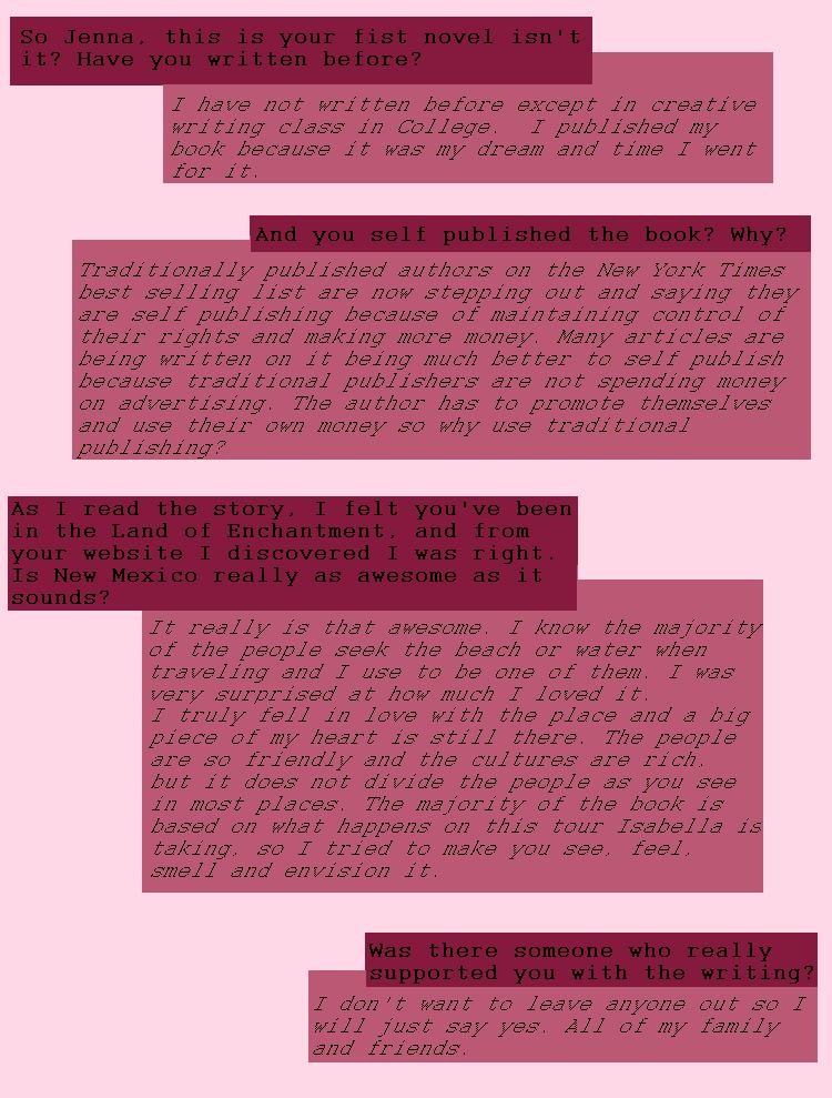 JennaRoads Q&A 1